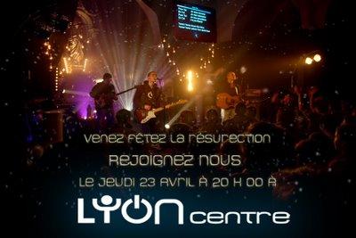 Lyon centre flyer soirée