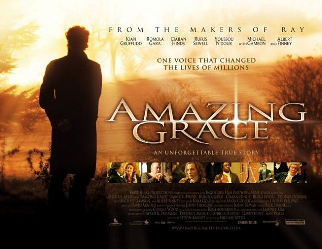 amazing grace the movie Amazing grace ( 2006 ) on netflix  ingenious film partners  priest who  penned the great hymn, amazing grace, prime william pitt, and olaudah  equiano,.
